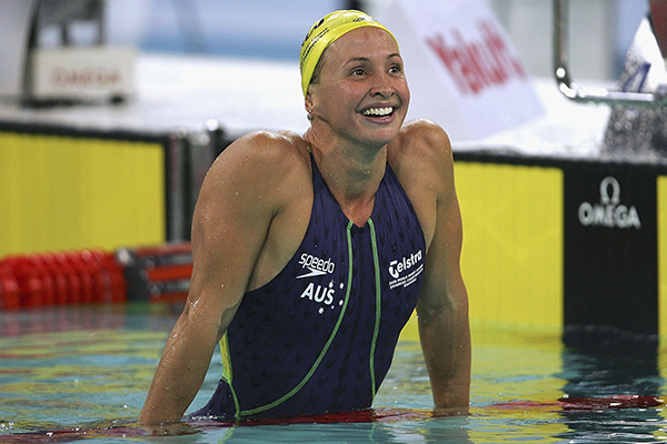 Article image for Olympian's tragic loss inspires marathon swimming challenge