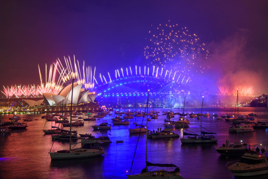 Article image for New Year's Eve: Sydneysiders stick to the rules as they usher in 2021