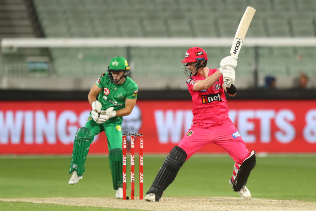 Sydney Sixers batsman's 'smart' solution to Big Bash's marketing crisis