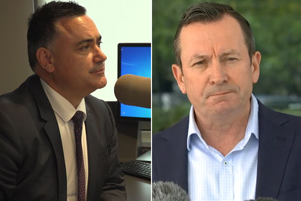 Deputy Premier delivers scathing message to isolationist WA Premier