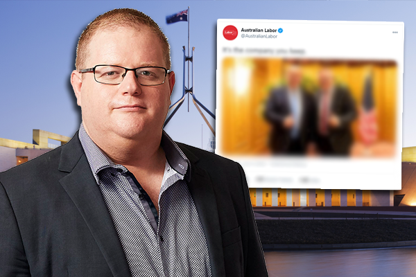 Article image for Mark Levy slams Labor Party's 'offensive' social media stunt