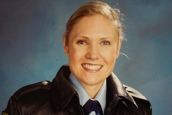 Fallen police officer's colleagues honour her hard work and dedication