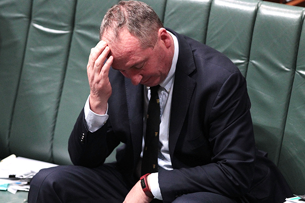 Article image for 'Stop being such a sook': Ben Fordham calls out Barnaby Joyce
