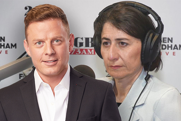 Ben Fordham breaks QLD border news live on air to surprised NSW Premier