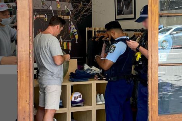 Thief defecates on charity floor, robs Sydney store