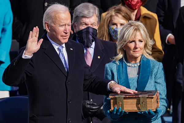 Article image for Joe Biden sworn in as 46th US President