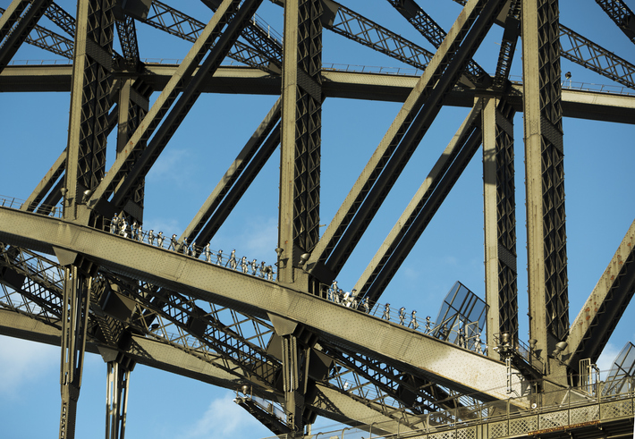 Article image for BridgeClimb offers new vantage point to view history