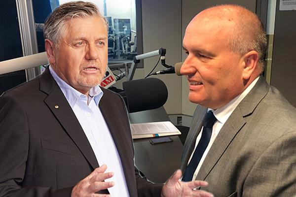 Ray Hadley hilariously berates 'tighta**' Police Minister