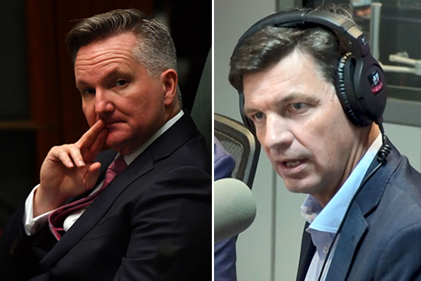 'They've just given up': Angus Taylor's shot across the Bow(en)