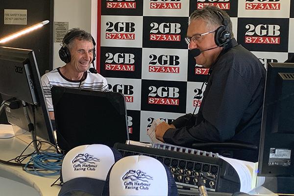 Veteran jockey shocks Ray Hadley ahead of Coffs Harbour races