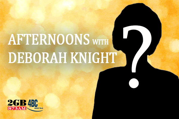 Article image for The reason Deborah Knight was missing from her show