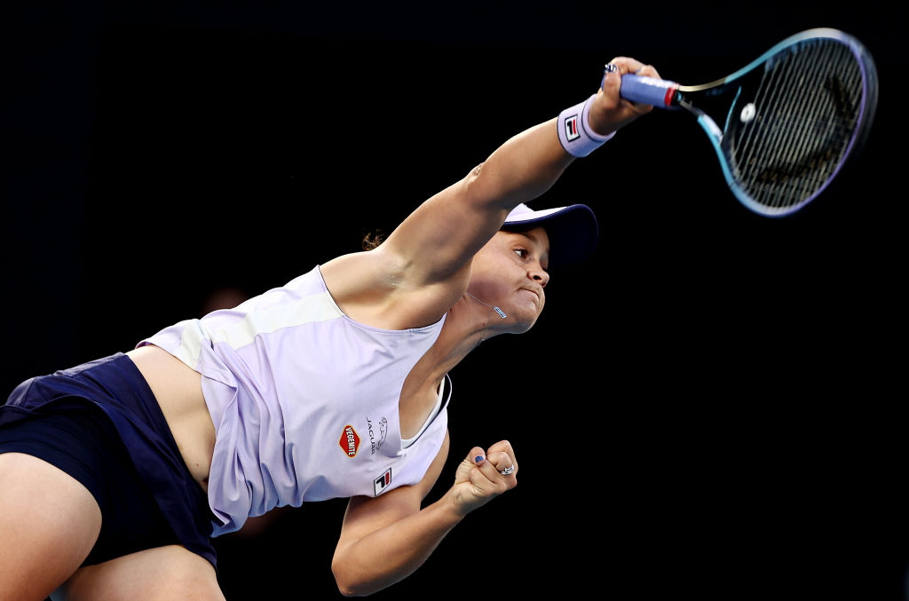 Article image for Ash Barty 'as good as it gets' for role model women in sport