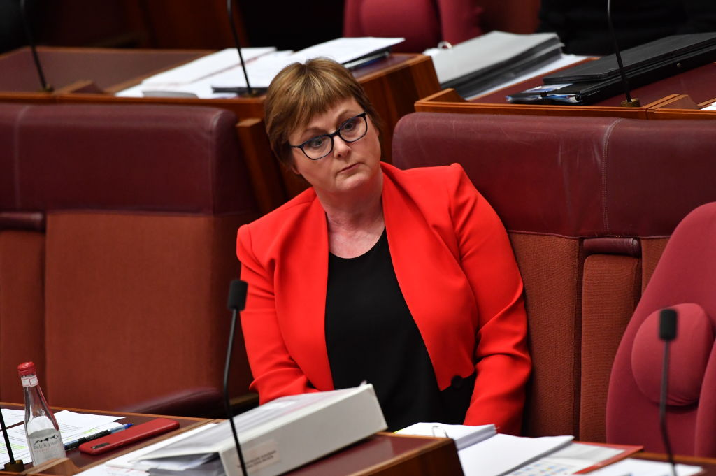 Jacqui Lambie declares Morrison government has 'no choice' but to dump Linda Reynolds