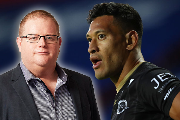 Article image for Mark Levy explains why Israel Folau should not return to the NRL
