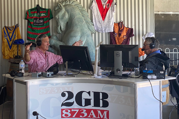 The male model from Mudgee's 'revealing' chat with Ray Hadley