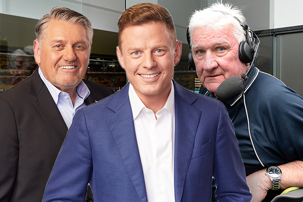 Article image for Ben Fordham and Ray Hadley's hilarious chat with Ray 'Rabs' Warren