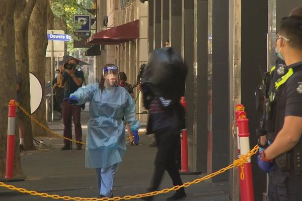 Melbourne's bizarre bin bag evacuation dismissed as panic-driven