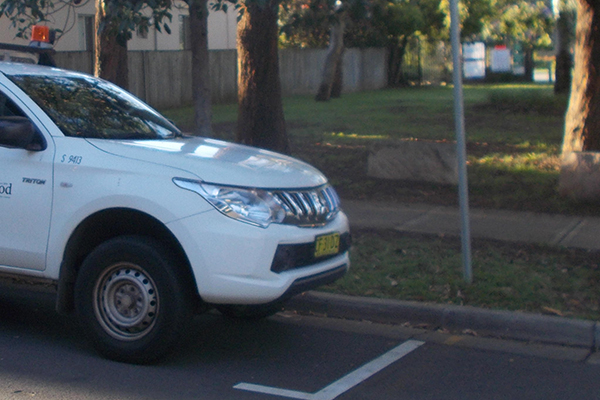 Article image for PHOTO   Council worker avoids fine despite 'inexcusable' parking breach