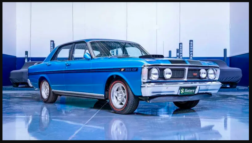 Why Aussie car auction records can't stay still