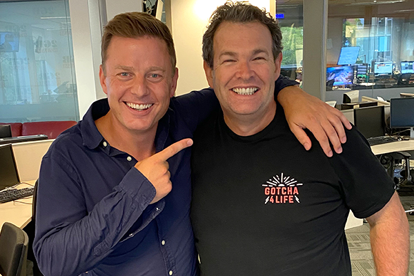 Article image for Ben Fordham receives unexpected gift from Gus Worland