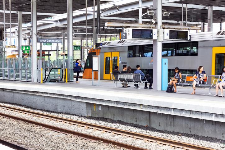 Man in hospital after daylight stabbing at Parramatta Station