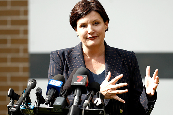 Article image for Jodi McKay's days numbered as unions drop support for Labor leader