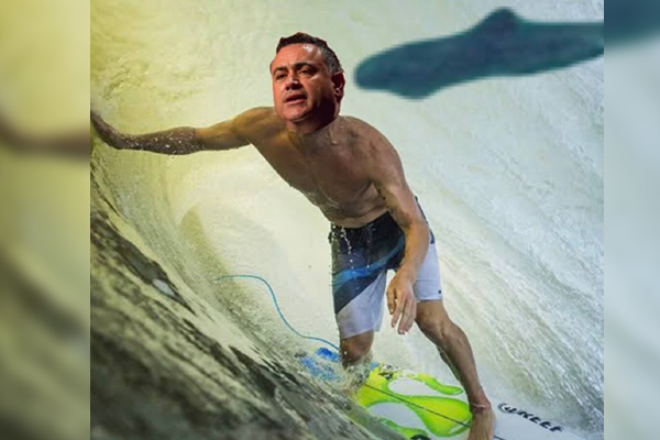 Article image for 'Surfer' John Barilaro celebrates iconic surf event's relocation to NSW