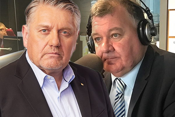 Article image for 'You've gone too far': Ray Hadley admits he won't support Craig Kelly's latest stunt