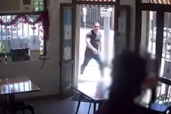 CCTV | Police hunt for man in violent road rage incident