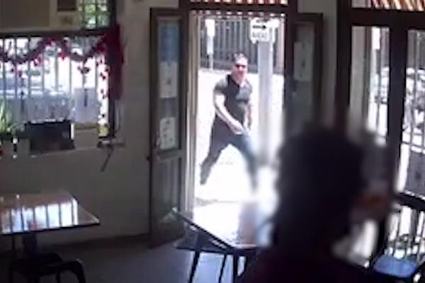 Article image for CCTV | Police hunt for man in violent road rage incident