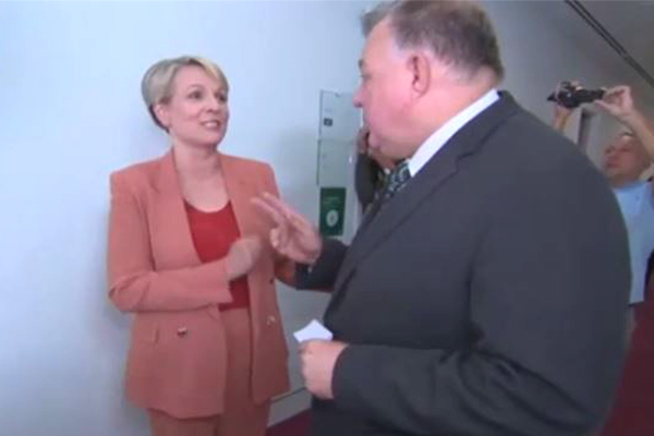 Article image for Tanya Plibersek says clash with Craig Kelly 'a total coincidence'