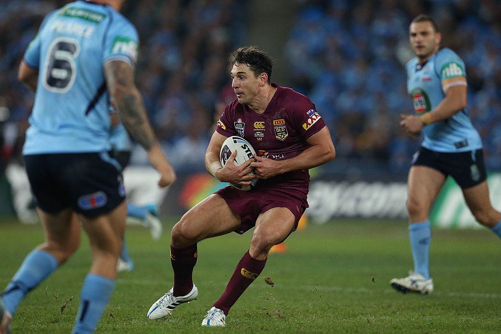 Article image for Former fullback Billy Slater declares new 'barometer' for the position