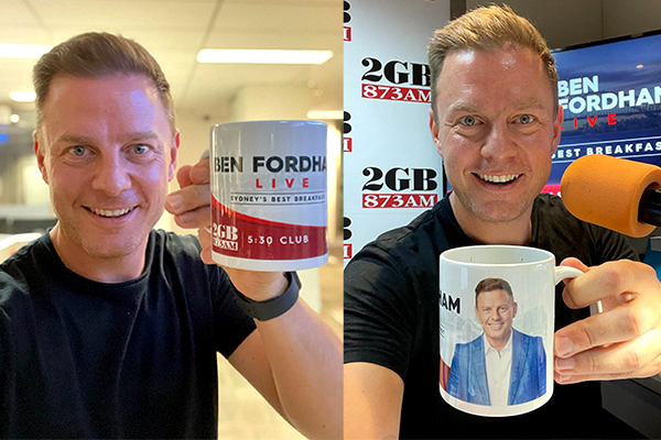 Article image for Ben Fordham Live mugs coming your way!