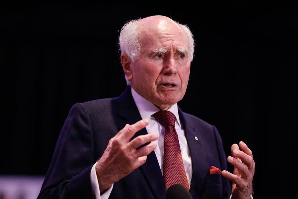 Article image for John Howard backs Prime Minister's handling of Christian Porter allegation
