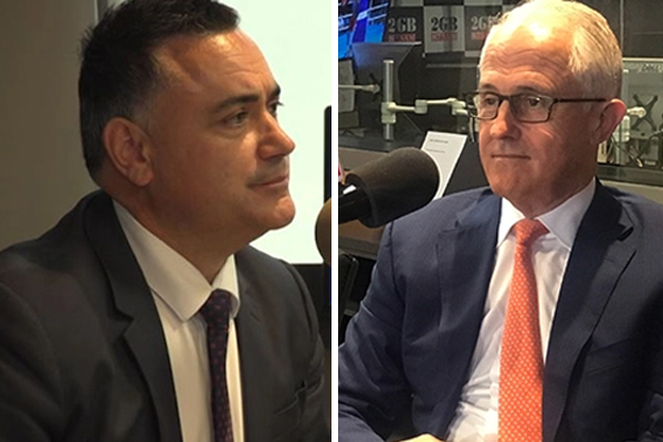 Article image for 'He is poison': John Barilaro accuses Malcolm Turnbull of treachery