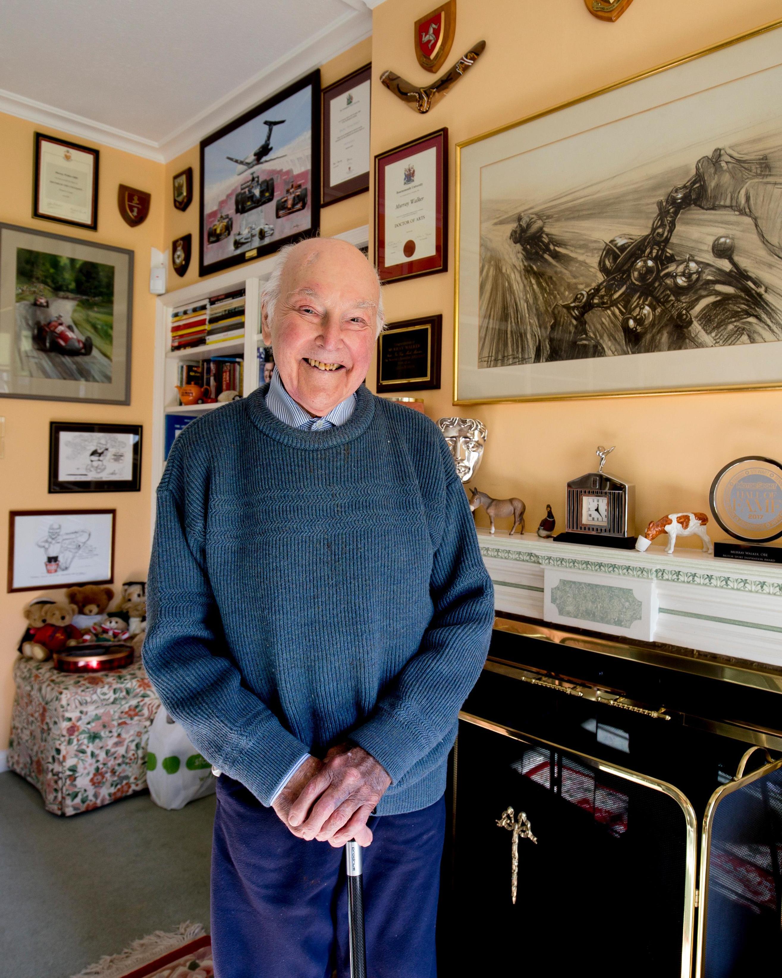 Murray Walker passes away age 97