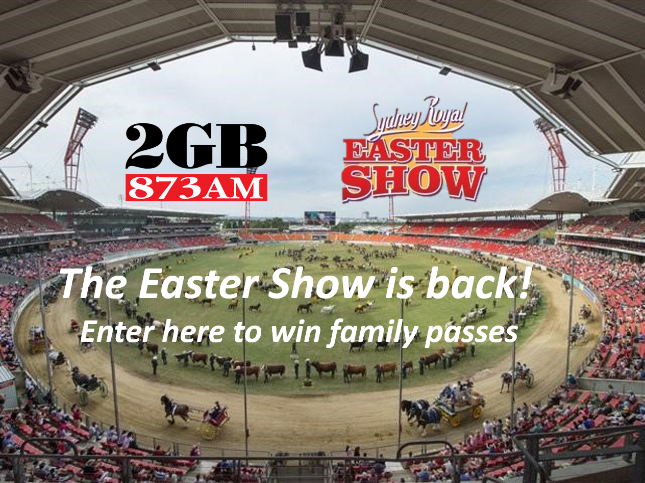 Win tickets to the 2021 Royal Easter Show!