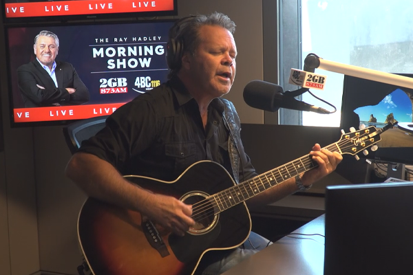 Troy Cassar-Daley shares his 'way out of the darkness'