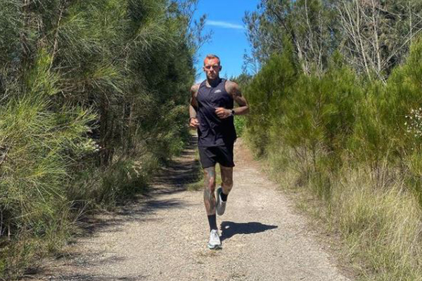 Article image for Cronulla man to run from Perth to Sydney