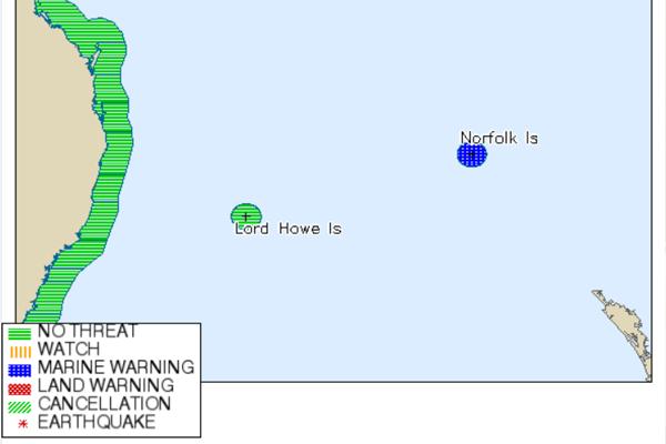 NZ tsunami threat downgraded after North Island earthquakes