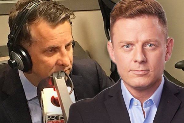 'What a load of tripe': Ben Fordham clashes with Andrew Constance over Sydney's ferries