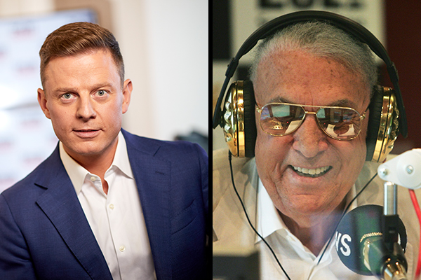 Article image for 'Get well soon': Ben Fordham's message to John Laws in hospital