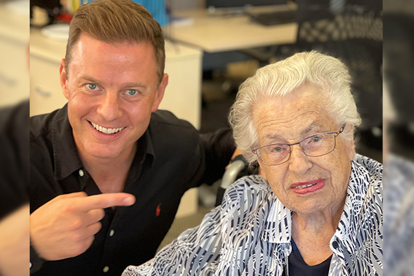 Inspirational member of the '100 club' shares life lessons