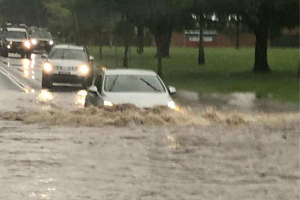 Article image for Sydneysiders warned to stay home as wild weather batters the state