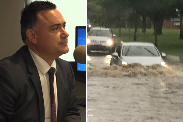 Article image for Recovery Minister warns floodwater death a 'stark reminder' of danger