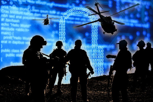 Air, land, sea and cyberspace: Australia to fight wars on new battlefield