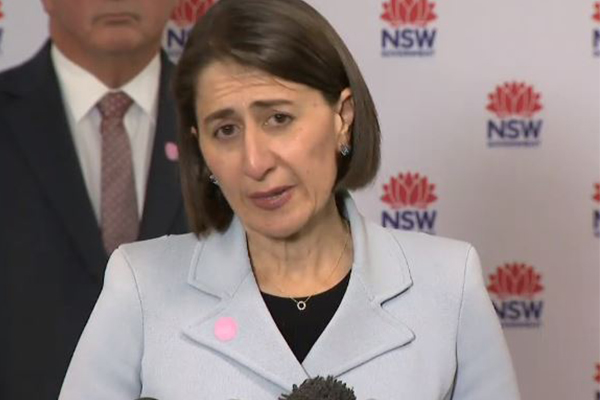Article image for NSW Premier sets Sydney a challenge in order for lockdown to end