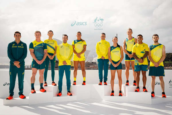 Article image for Australia's Olympic uniforms unveiled