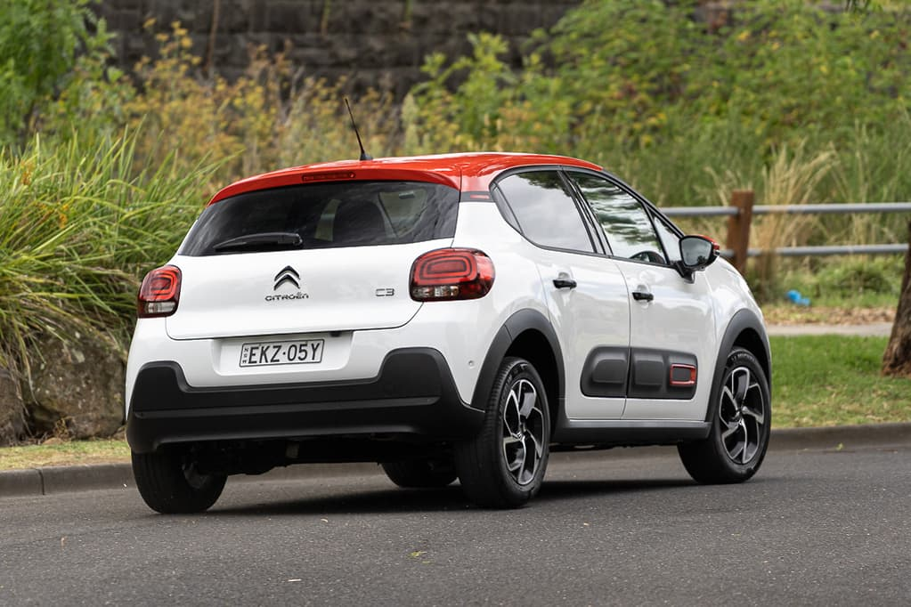 2021 Citroen C3 hatchback 2