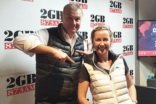 Someone call Vogue! 2GB hosts break out the winter fashion